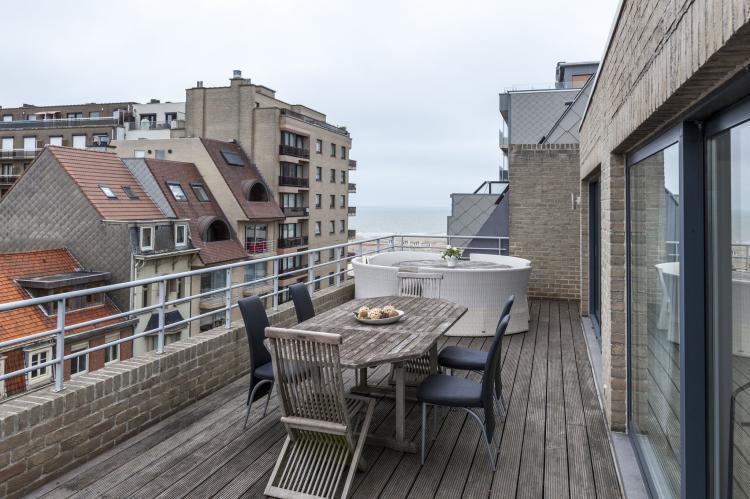 VakantiehuisBelgië - West-Vlaanderen: Penthouse Margaux  [16]