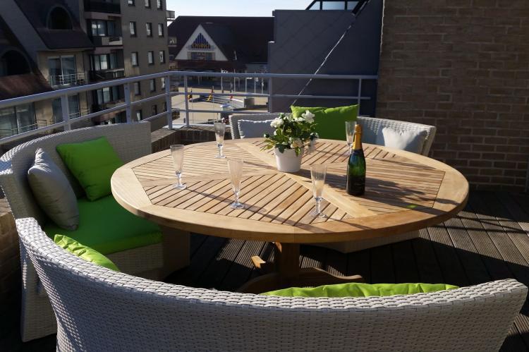 VakantiehuisBelgië - West-Vlaanderen: Penthouse Margaux  [20]