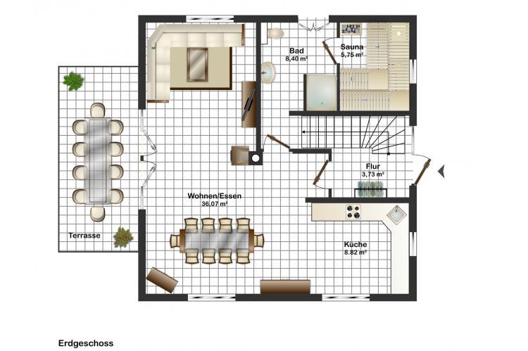Holiday homeGermany - Mecklenburg-Pomerania: Traumidyll mit 5 Schlafzimmern - sehr komfortabel  [18]