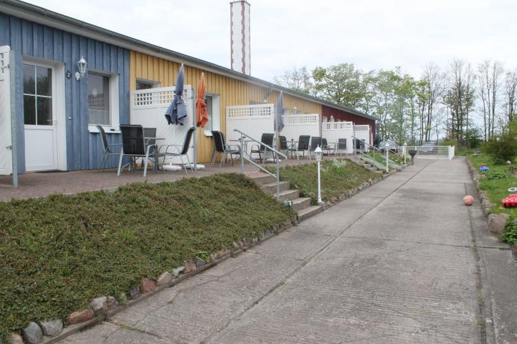 VakantiehuisDuitsland - Mecklenburg-Vorpommern: Inselferien in der Uferschwalbe 3 - großer Garten  [18]