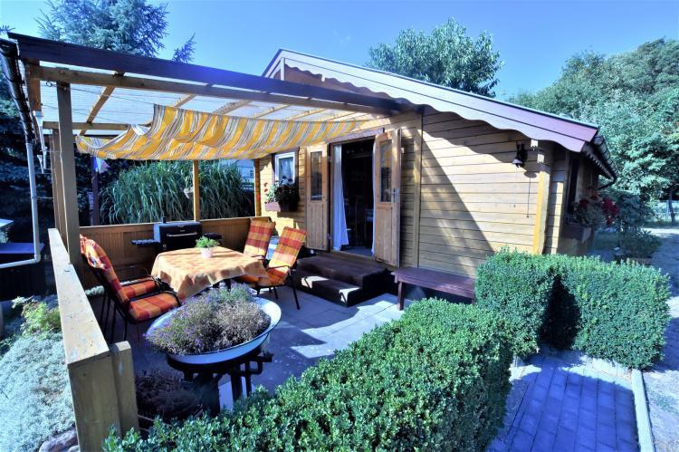 Holiday homeGermany - Mecklenburg-Pomerania: Bungalow Andrea am Salzhaff mit Garten  [1]