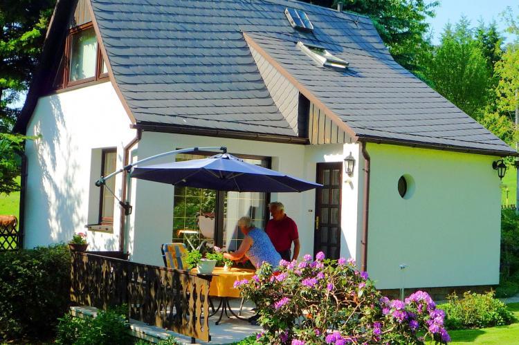 VakantiehuisDuitsland - Saksen: Ferienhaus im Erzgebirge  [4]