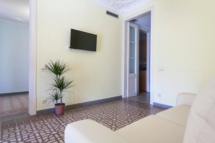 VakantiehuisSpanje - Costa Maresme/ Barcelona: Rambla Paris Apartment  [7]