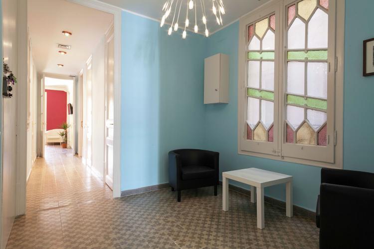 VakantiehuisSpanje - Costa Maresme/ Barcelona: Rambla Paris Apartment  [4]