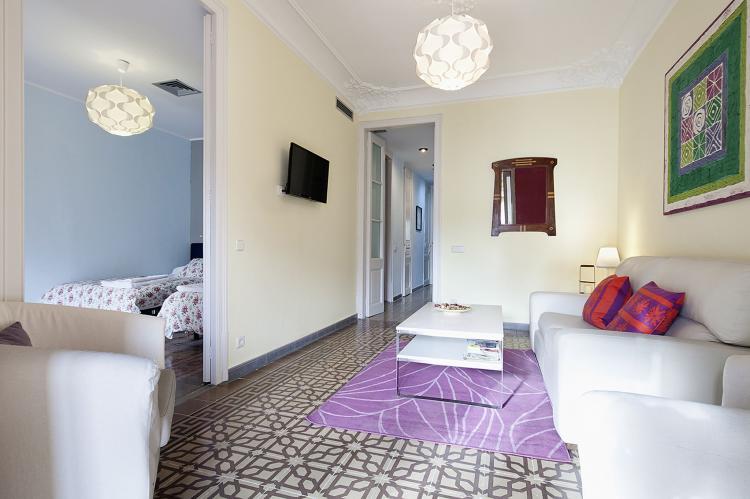 VakantiehuisSpanje - Costa Maresme/ Barcelona: Rambla Paris Apartment  [5]