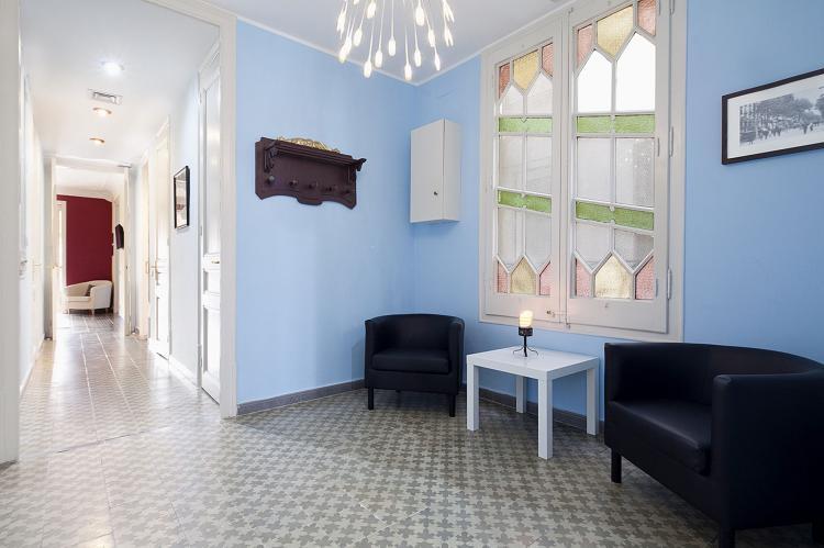 VakantiehuisSpanje - Costa Maresme/ Barcelona: Rambla Paris Apartment  [2]