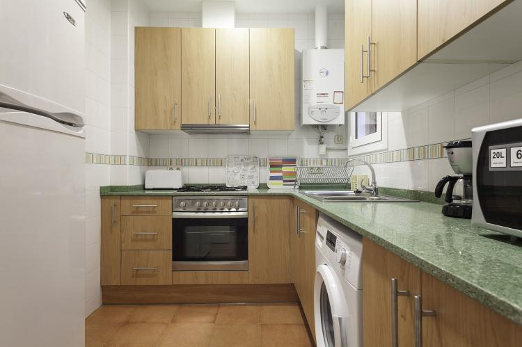 VakantiehuisSpanje - Costa Maresme/ Barcelona: Rambla Paris Apartment  [10]