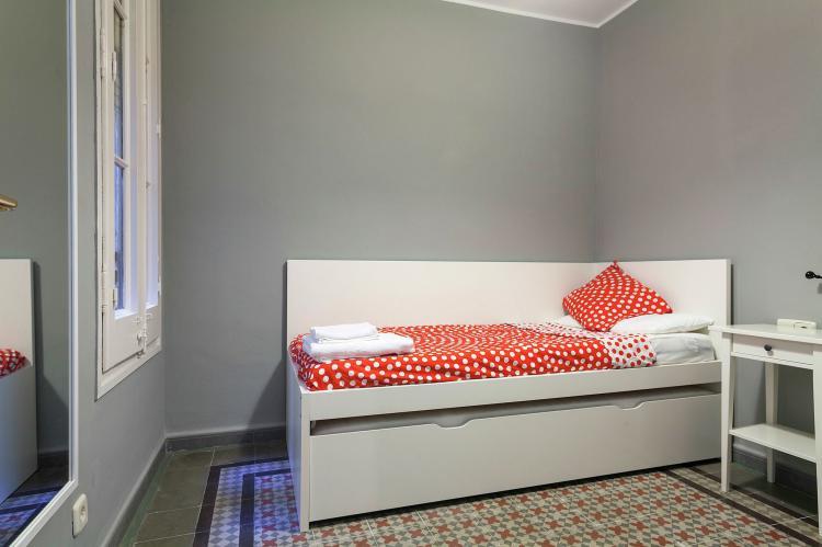VakantiehuisSpanje - Costa Maresme/ Barcelona: Rambla Paris Apartment  [17]