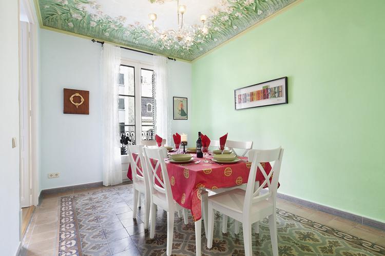 VakantiehuisSpanje - Costa Maresme/ Barcelona: Rambla Paris Apartment  [9]