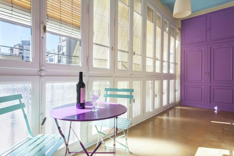 VakantiehuisSpanje - Costa Maresme/ Barcelona: Rambla Paris Apartment  [24]