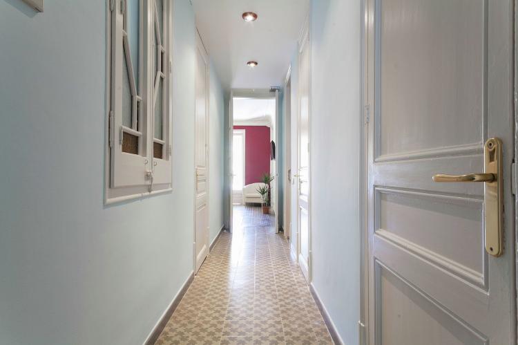 VakantiehuisSpanje - Costa Maresme/ Barcelona: Rambla Paris Apartment  [11]