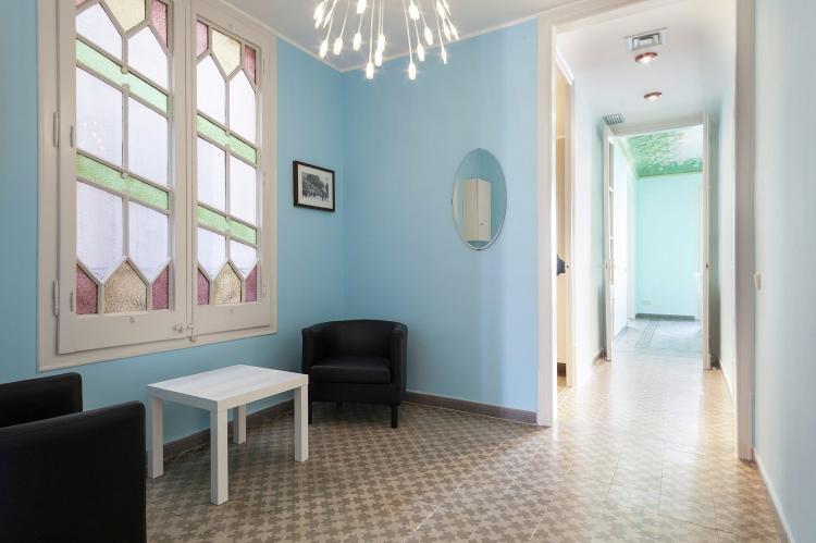 VakantiehuisSpanje - Costa Maresme/ Barcelona: Rambla Paris Apartment  [3]