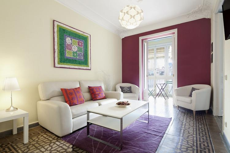 VakantiehuisSpanje - Costa Maresme/ Barcelona: Rambla Paris Apartment  [6]