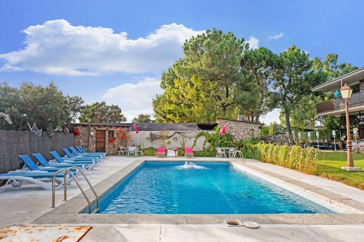 Holiday homeSpain - Madrid: Gran jardín piscina y Spa - Galapagar III  [19]