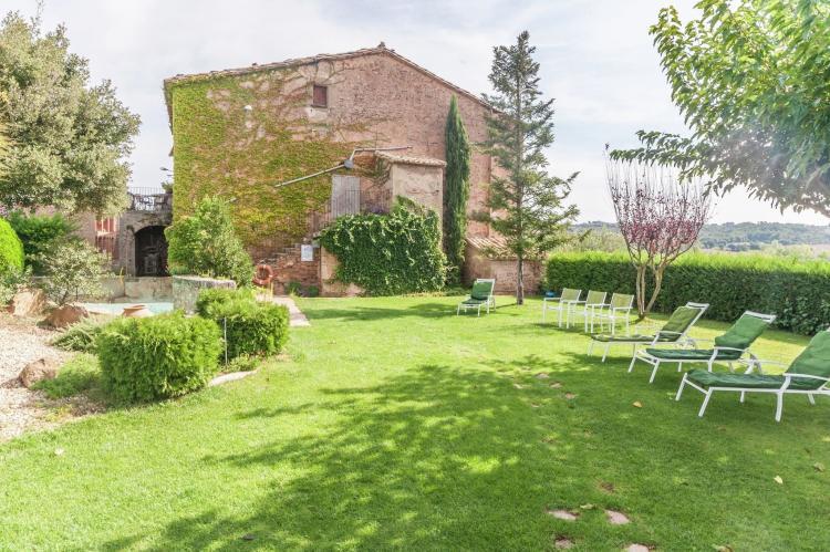 VakantiehuisSpanje - Catalonië Binnenland: Can Guilella  [28]