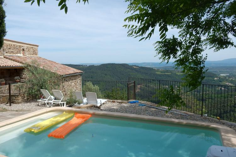 Holiday homeFrance - Ardèche: Villa Chassiers petit  [1]