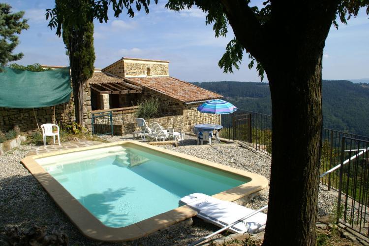 FerienhausFrankreich - Ardèche: Villa Chassiers petit  [2]