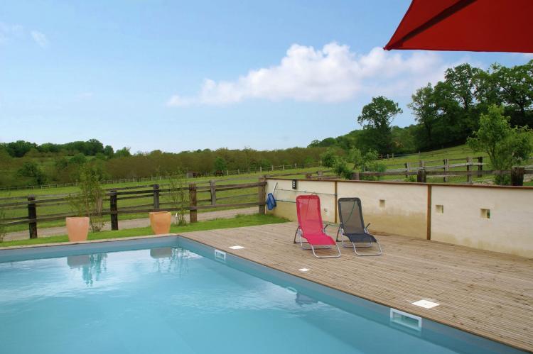 VakantiehuisFrankrijk - Midi-Pyreneeën: Maison avec piscine chauffée  [2]