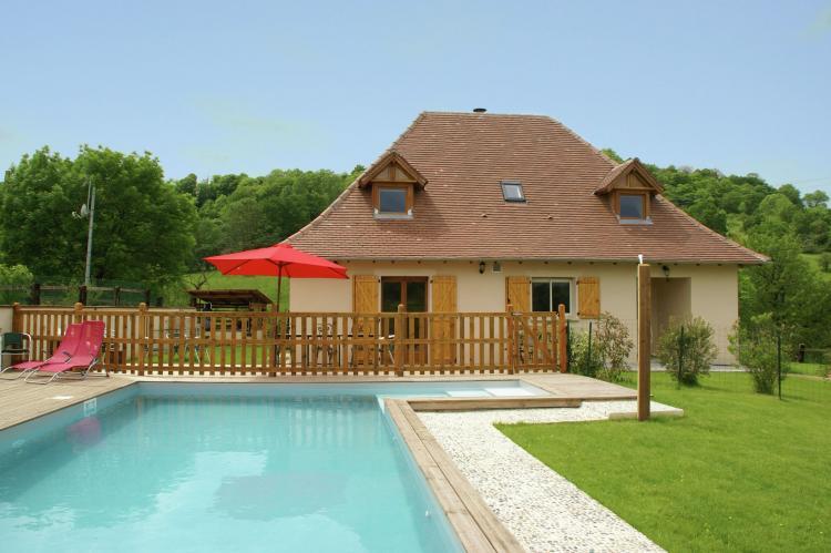 VakantiehuisFrankrijk - Midi-Pyreneeën: Maison avec piscine chauffée  [6]