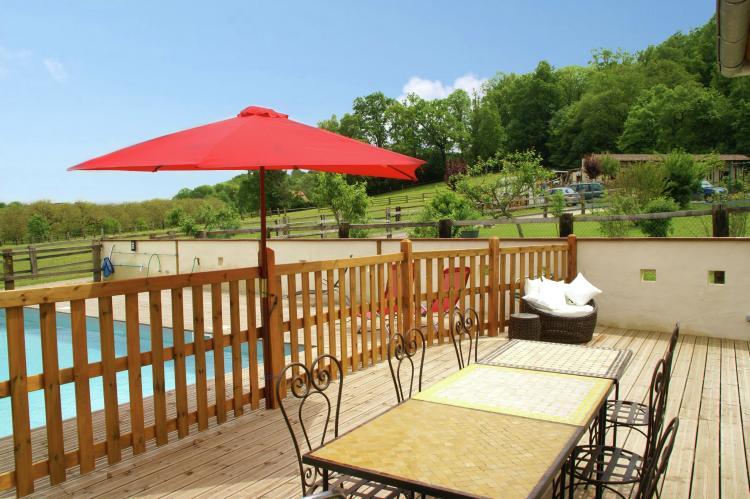 VakantiehuisFrankrijk - Midi-Pyreneeën: Maison avec piscine chauffée  [13]