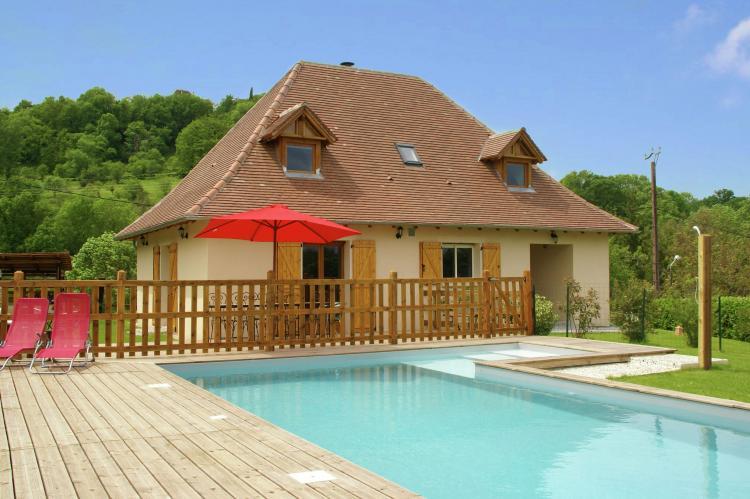 VakantiehuisFrankrijk - Midi-Pyreneeën: Maison avec piscine chauffée  [1]