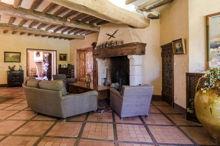 VakantiehuisFrankrijk - Dordogne: Manoir de la Baronie 21P  [8]