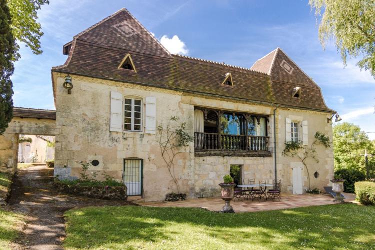 VakantiehuisFrankrijk - Dordogne: Manoir de la Baronie 21P  [1]
