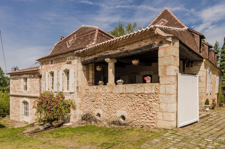 VakantiehuisFrankrijk - Dordogne: Manoir de la Baronie 21P  [2]