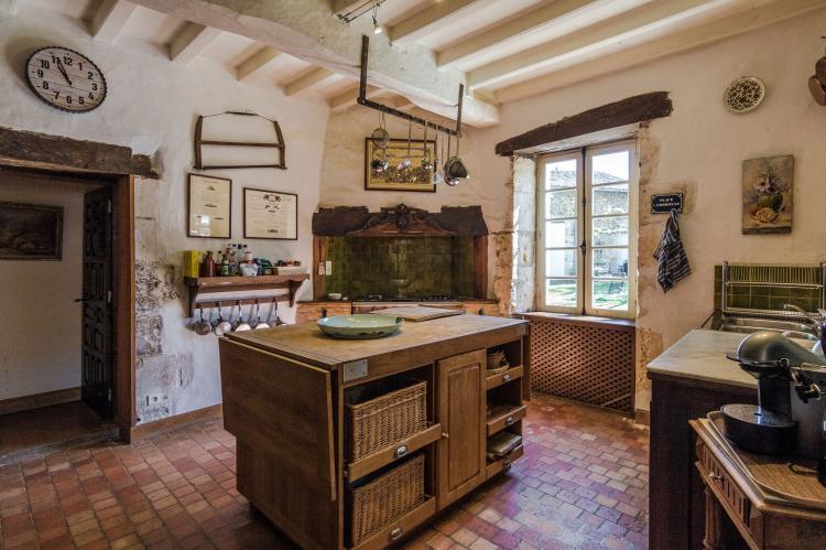 VakantiehuisFrankrijk - Dordogne: Manoir de la Baronie 21P  [13]