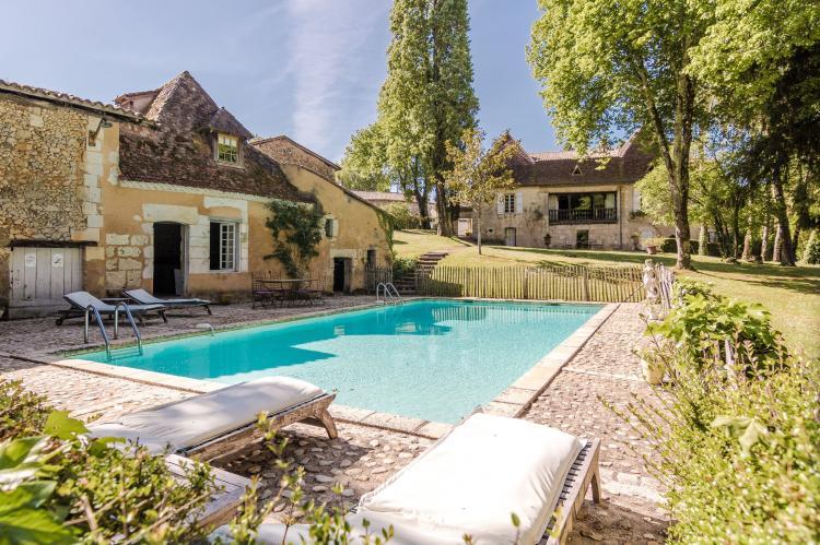 VakantiehuisFrankrijk - Dordogne: Manoir de la Baronie 21P  [4]