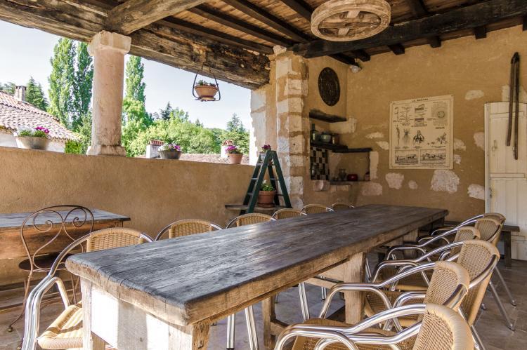 VakantiehuisFrankrijk - Dordogne: Manoir de la Baronie 21P  [34]