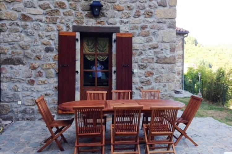 VakantiehuisFrankrijk - Ardèche: Maison de Vacances  - St Julien de Gua  [26]