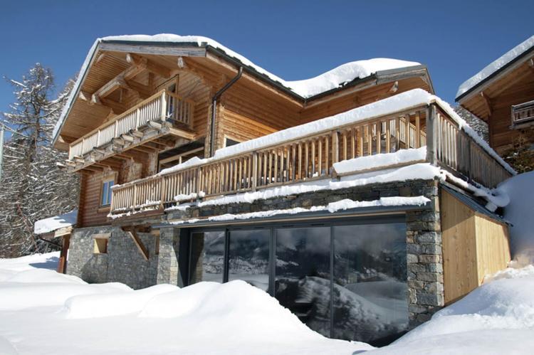 VakantiehuisFrankrijk - Noord Alpen: Chalet Mont Soleil  [4]