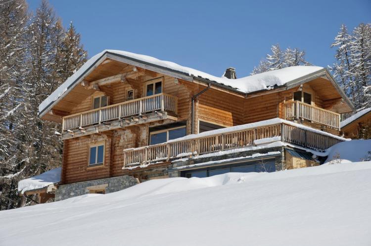 VakantiehuisFrankrijk - Noord Alpen: Chalet Mont Soleil  [1]