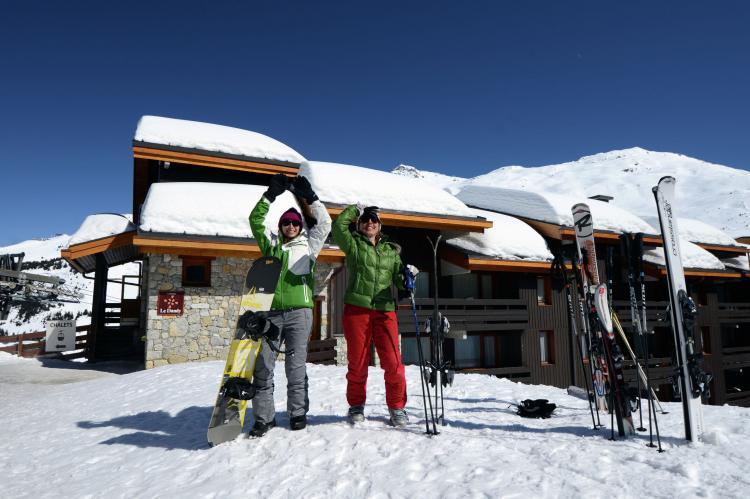 VakantiehuisFrankrijk - Noord Alpen: Résidence Le Hameau du Mottaret 3  [11]