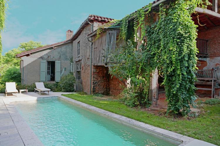 Holiday homeFrance - Mid-Pyrenees: Maison Romaine Romantique  [1]
