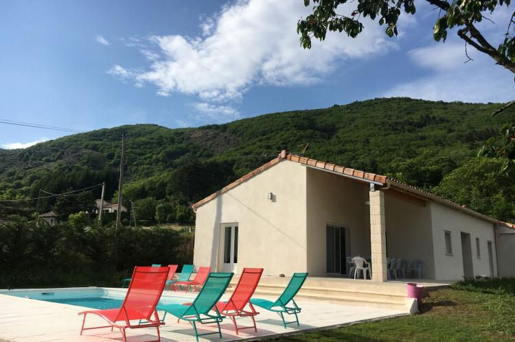VakantiehuisFrankrijk - Ardèche: Villa 2 - Thueyts  [1]