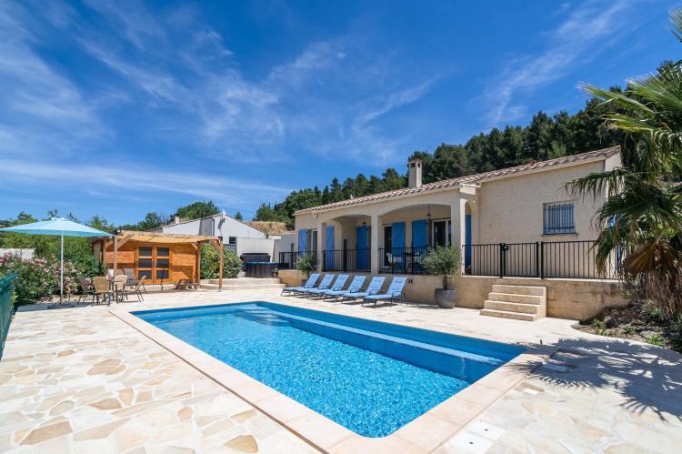 VakantiehuisFrankrijk - Languedoc-Roussillon: La Capitelle  [1]