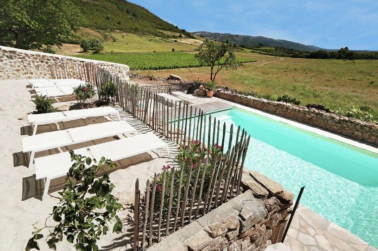 VakantiehuisFrankrijk - Languedoc-Roussillon: Gîte de luxe dans les vignes 4  [8]