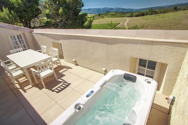VakantiehuisFrankrijk - Languedoc-Roussillon: Gîte de luxe dans les vignes 4  [5]