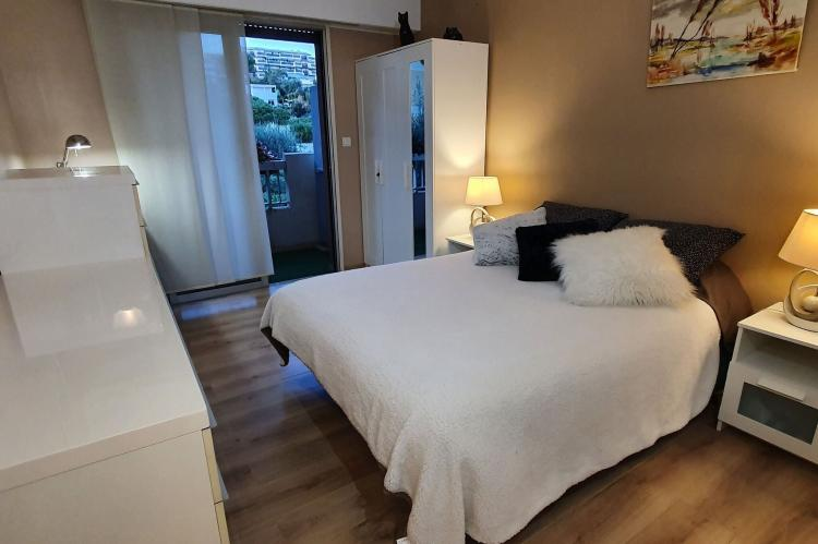Holiday homeFrance - Southern Alps: Appartement standing avec terrasse et vue mer à Ni  [20]