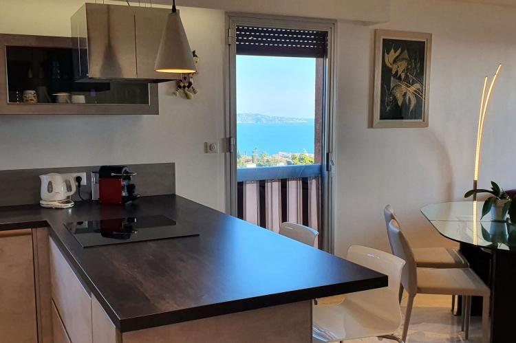 Holiday homeFrance - Southern Alps: Appartement standing avec terrasse et vue mer à Ni  [17]