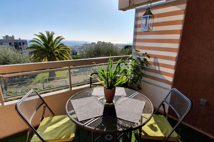 Holiday homeFrance - Southern Alps: Appartement standing avec terrasse et vue mer à Ni  [2]