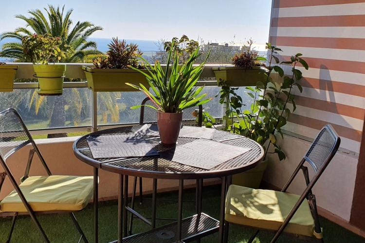 Holiday homeFrance - Southern Alps: Appartement standing avec terrasse et vue mer à Ni  [28]