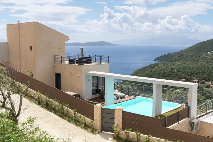 VakantiehuisGriekenland - Lefkas: Villa Krystle  [1]