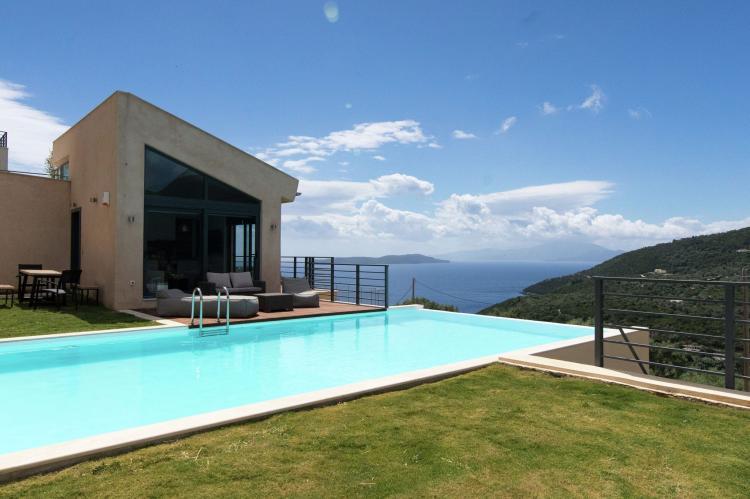 VakantiehuisGriekenland - Lefkas: Villa Krystle  [2]
