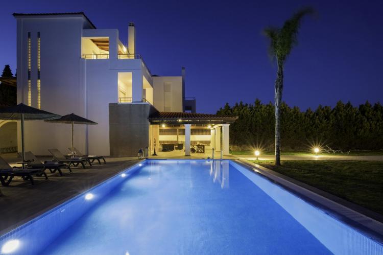 VakantiehuisGriekenland - Rhodos: Gennadi Luxury Beach Front Villa  [7]