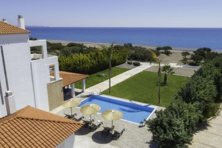 VakantiehuisGriekenland - Rhodos: Gennadi Luxury Beach Front Villa  [5]