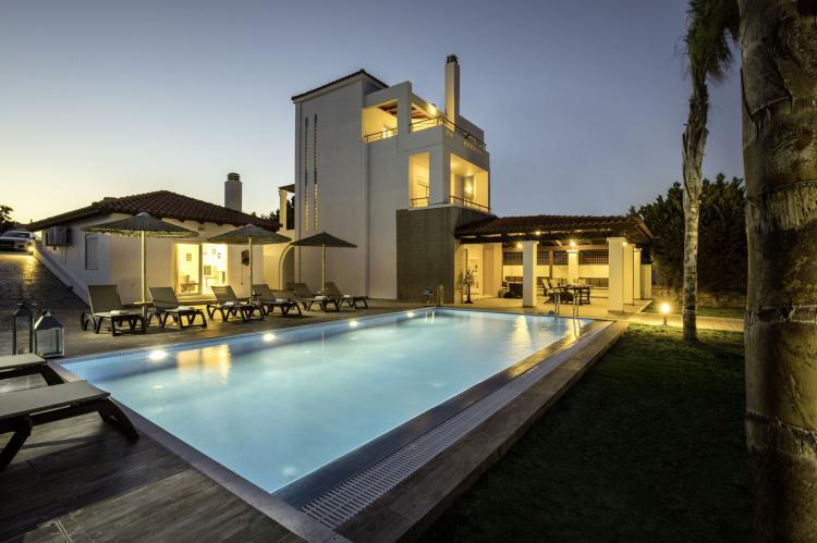 VakantiehuisGriekenland - Rhodos: Gennadi Luxury Beach Front Villa  [1]