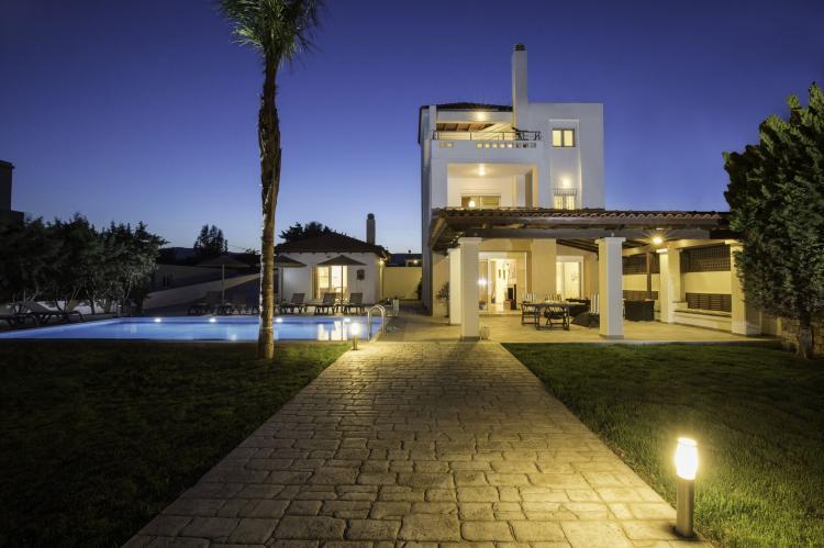 VakantiehuisGriekenland - Rhodos: Gennadi Luxury Beach Front Villa  [3]